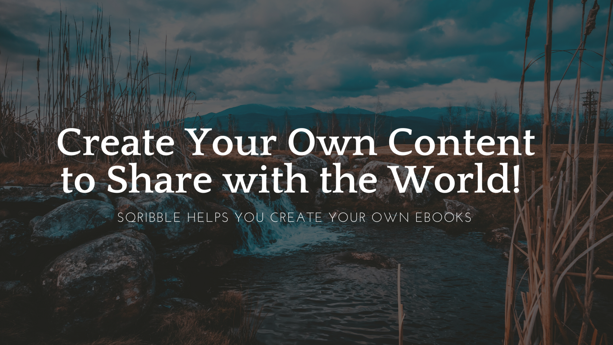 Sqribble helps You Create Your Own eBooks